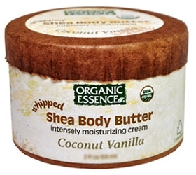 organic essence body butter coconut vanilla