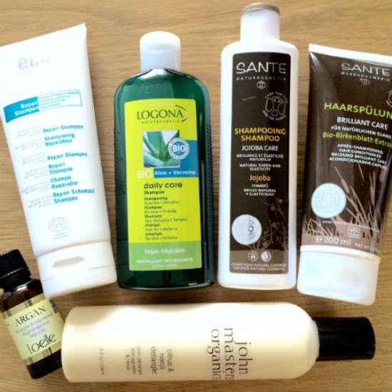 ekologiska hårprodukter